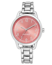 Nine West Silver Bracelet Watch