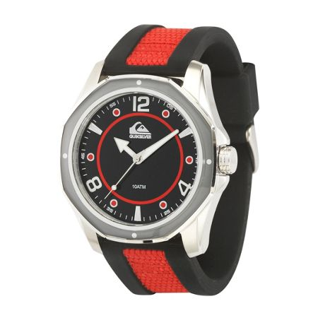 Quiksilver Red/Black The Mariner Watch
