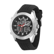 Black Silicon The Fifty Watch