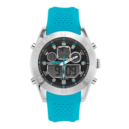 Quiksilver Blue Silicon The Fifty Watch
