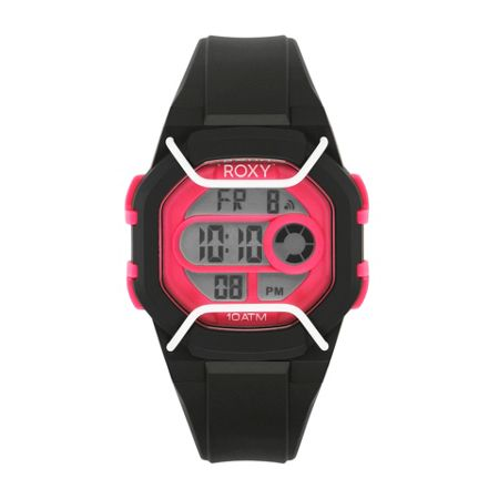 Roxy Black/ Pink The Guard Watch