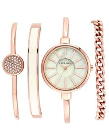 Anne Klein Anne Klein Rose Gold Bracelet Watch