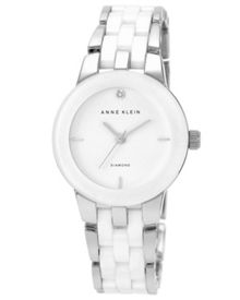 Anne Klein White Ceramic Watch
