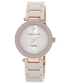 Anne Klein Mink Ceramic Watch