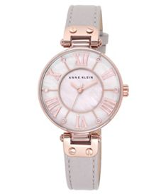 Anne Klein Mink Leather Watch