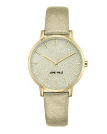 Nine West Gold strap watch