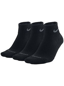 3-Pair Dri Fit Quarter Socks