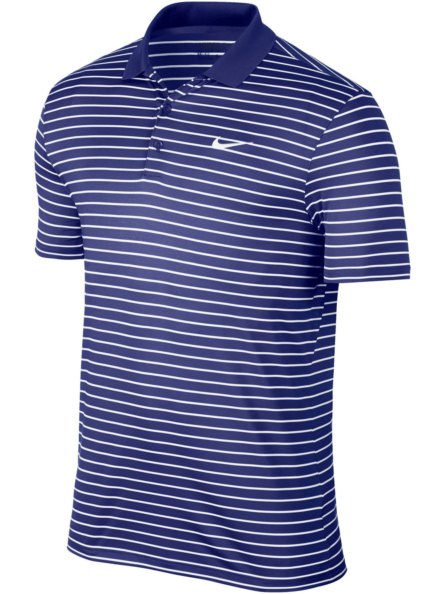Men's Nike Victory Stripe Polo, Blue