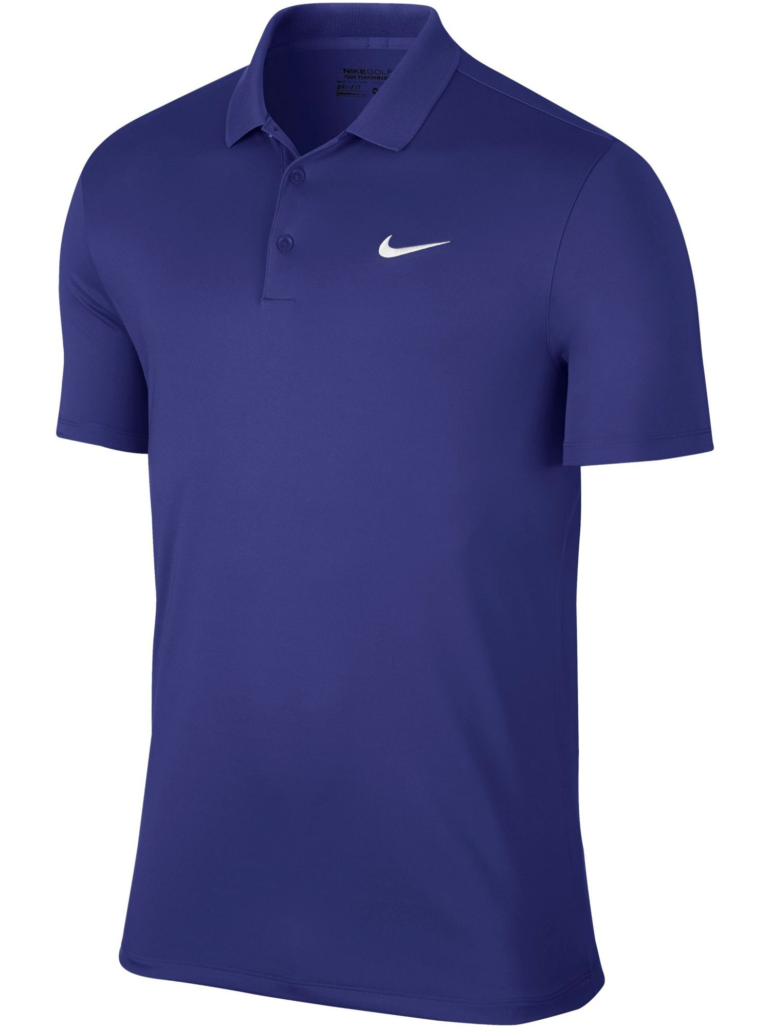 Men's Nike Golf Victory Solid Polo, Mid Blue