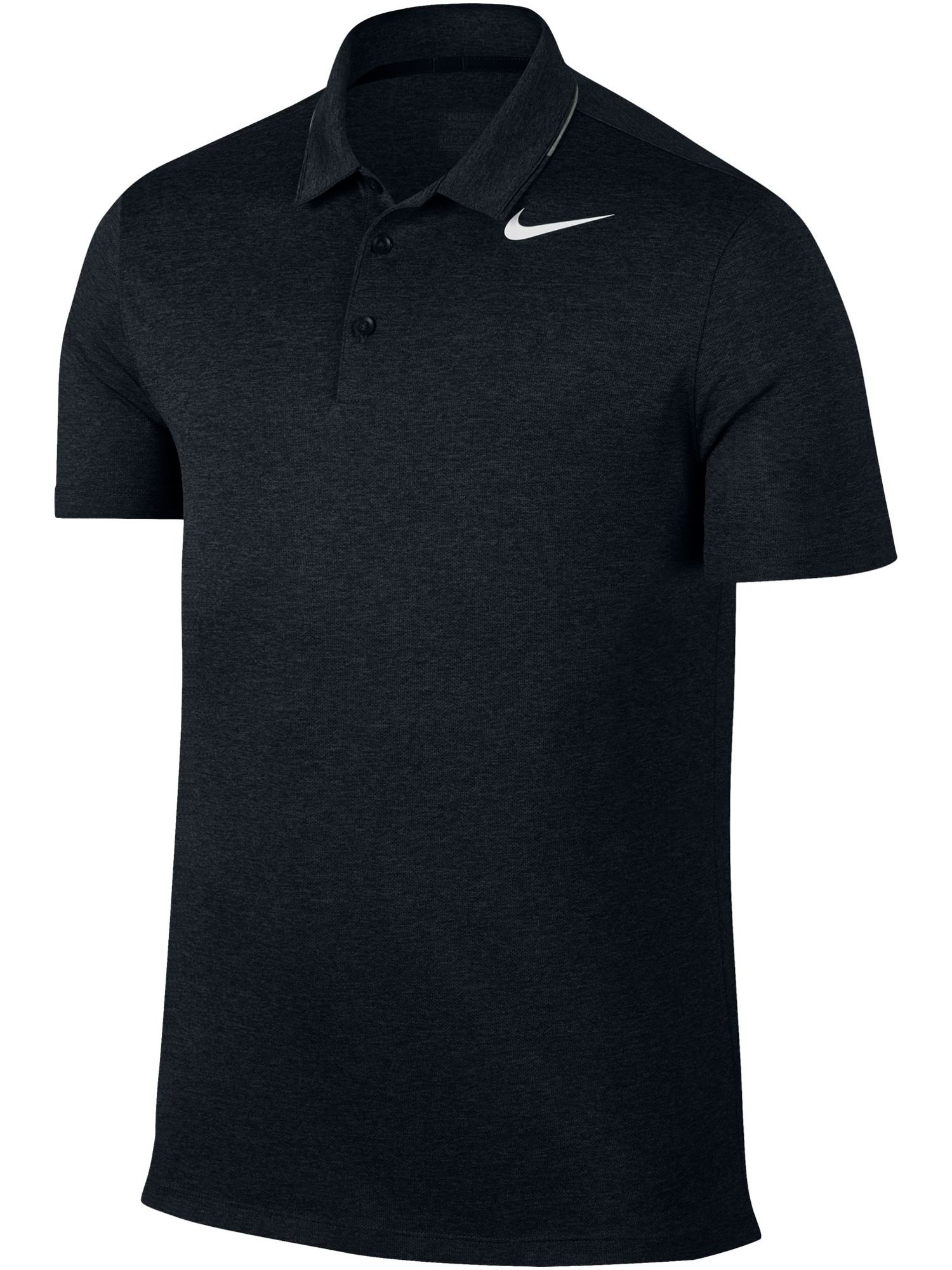 Men's Nike Breathe Heather Polo, Black