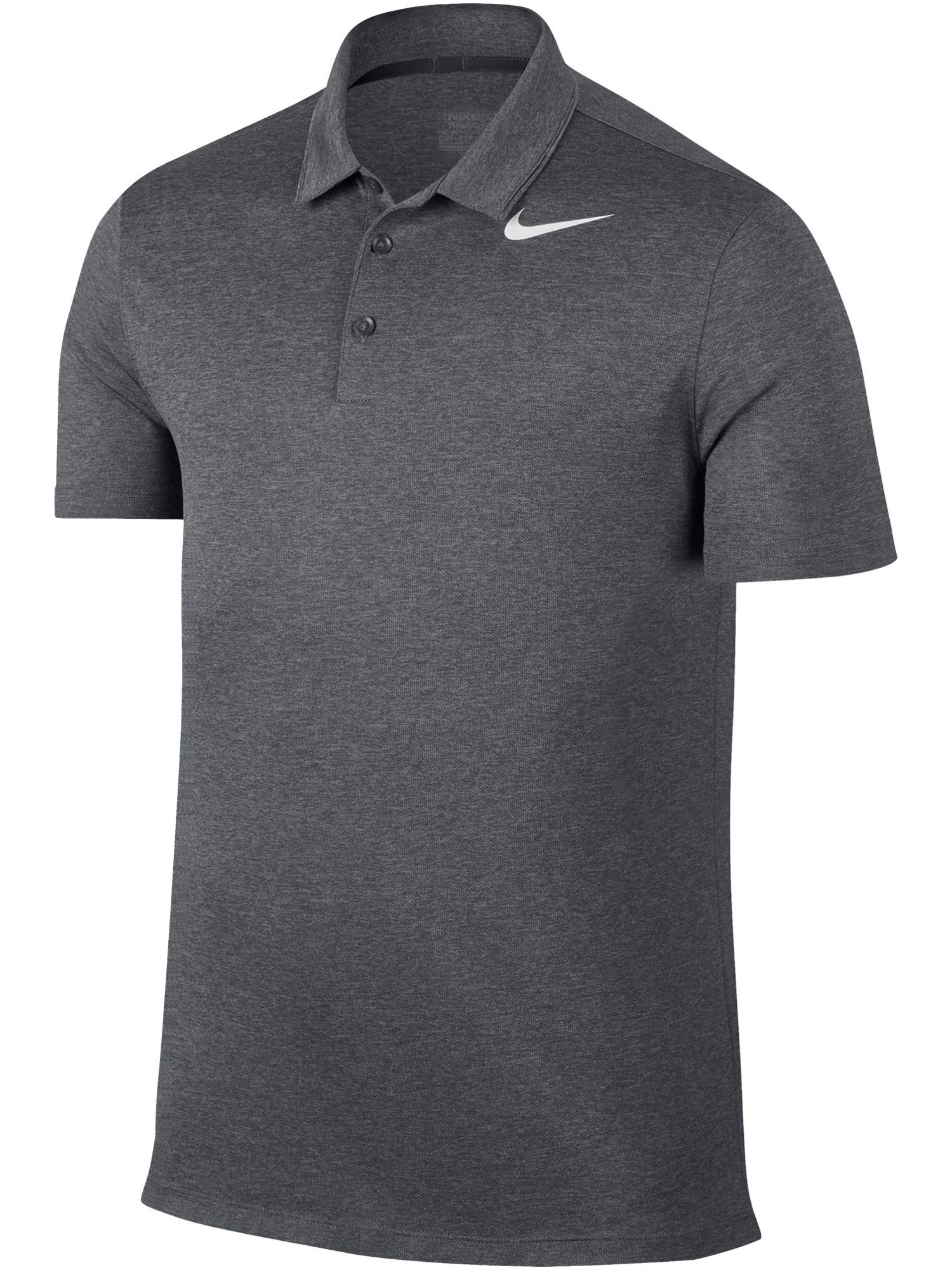 Men's Nike Breathe Heather Polo, Grey