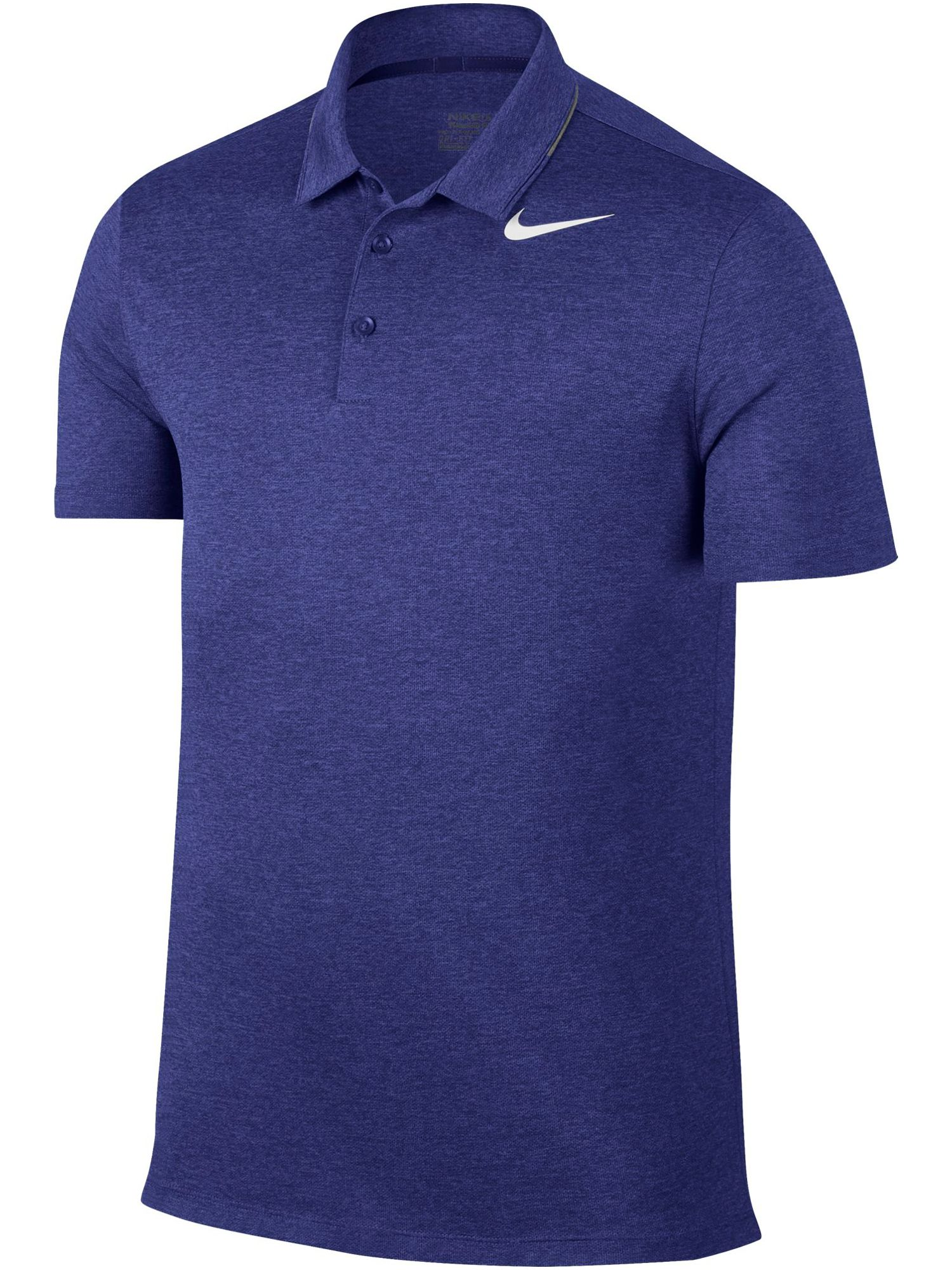 Men's Nike Breathe Heather Polo, Blue