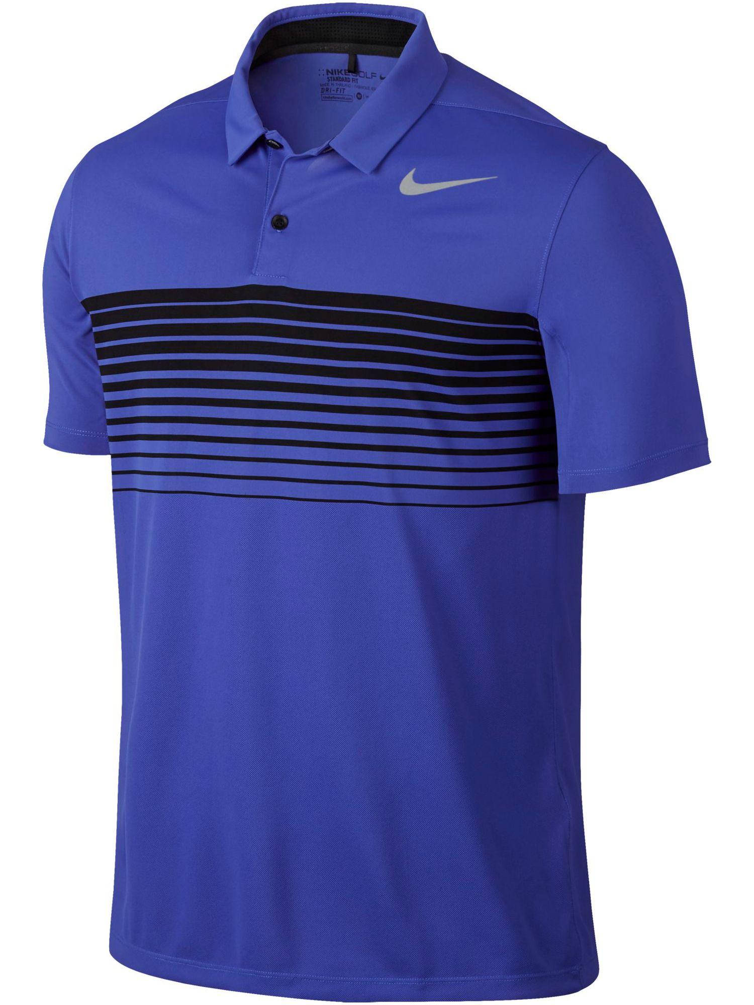 Men's Nike Mobility Speed Stripe Polo, Blue