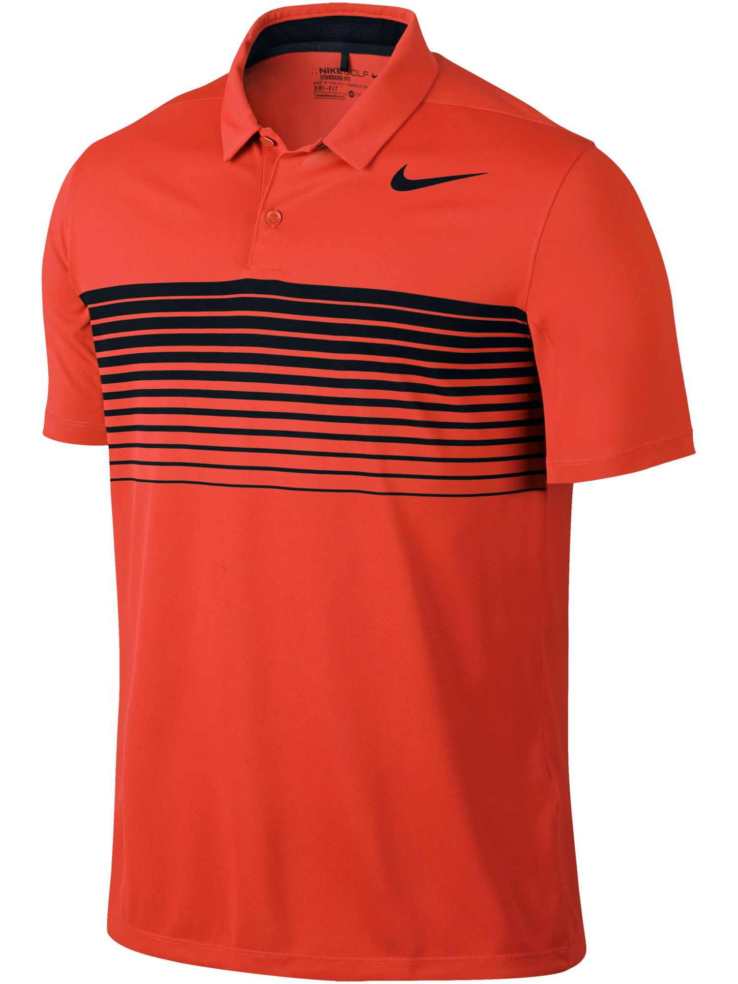 Men's Nike Mobility Speed Stripe Polo, Orange
