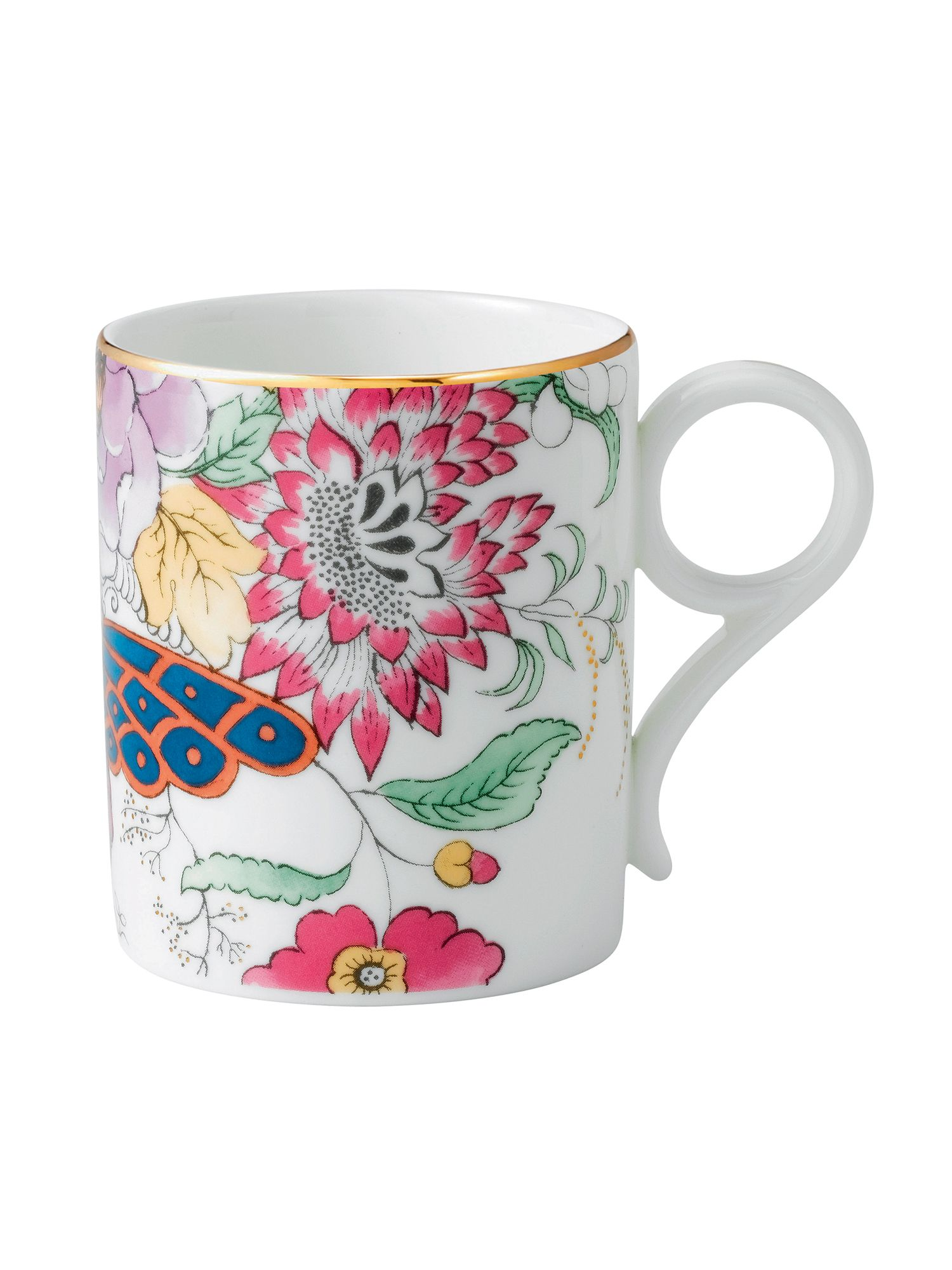 Archive collection floral bouquet mug