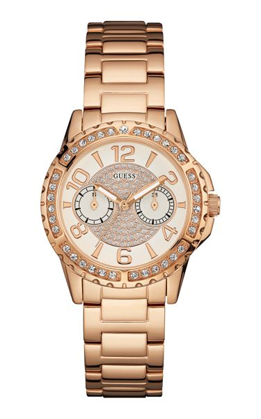 Guess W0705l3 ladies` bracelet sport watch
