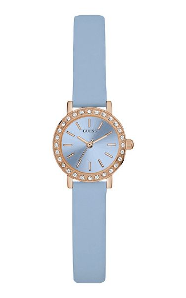Guess W0885l6 ladies leather strap dress watch