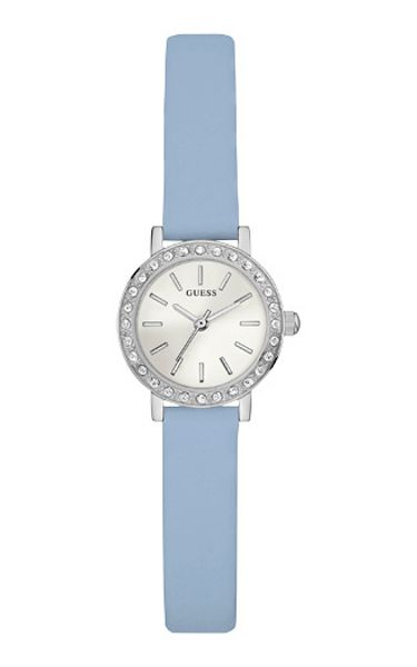 Guess W0885l2 ladies leather strap dress watch
