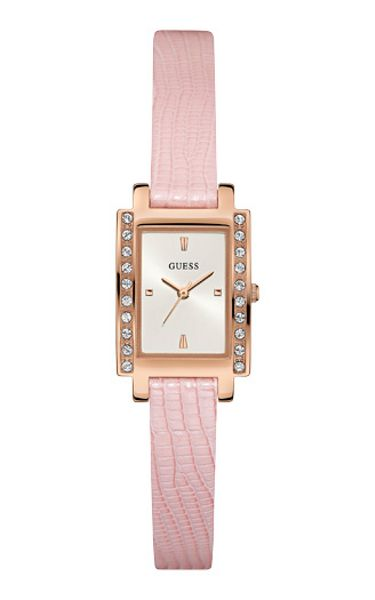 Guess W0888l6 ladies leather strap dress watch