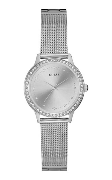 Guess W0647l6 ladies` bracelet dress watch