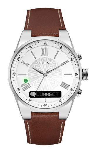 Guess C0002MB1 CONNECT Gents` Smart Watch, Brown