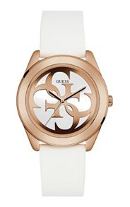 Guess W0911l5 ladies silicone strap watch