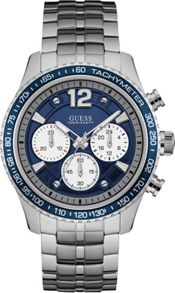 Guess W0969g1 gents metal bracelet watch
