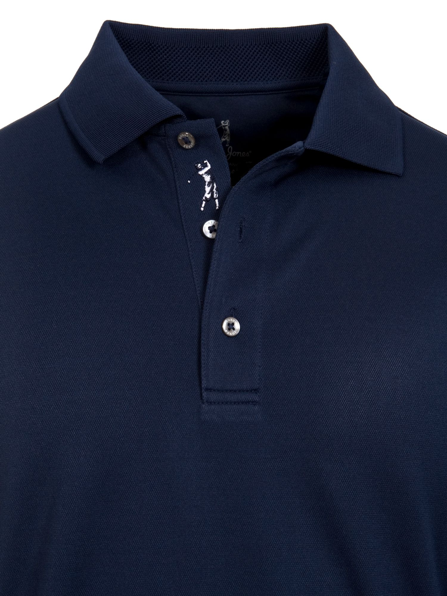 Xh20 coolplus solid eyelet polo
