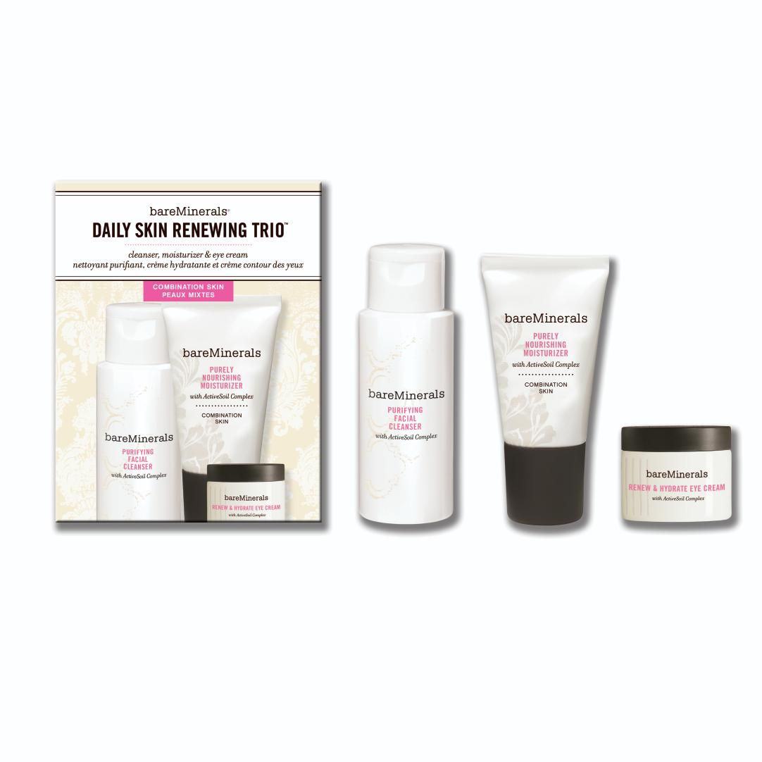 Daily Skin Renewing Trio: Combination Skin