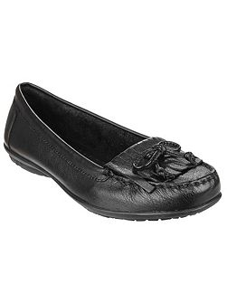 Ceil mocc kilty slip on shoes
