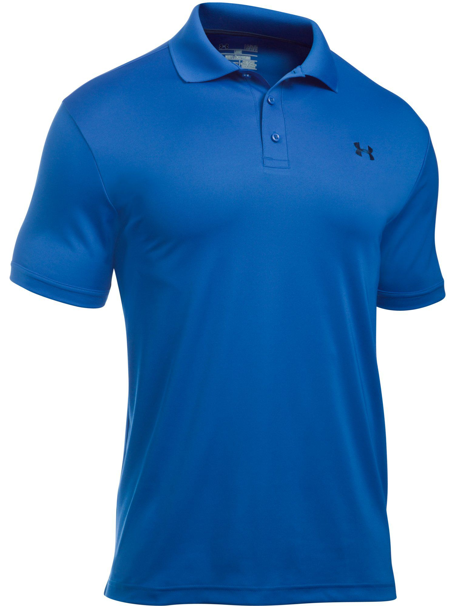 Men's Under Armour Performance Polo, Royal Blue