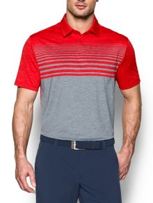 Under Armour Coolswitch Upright Stripe Polo