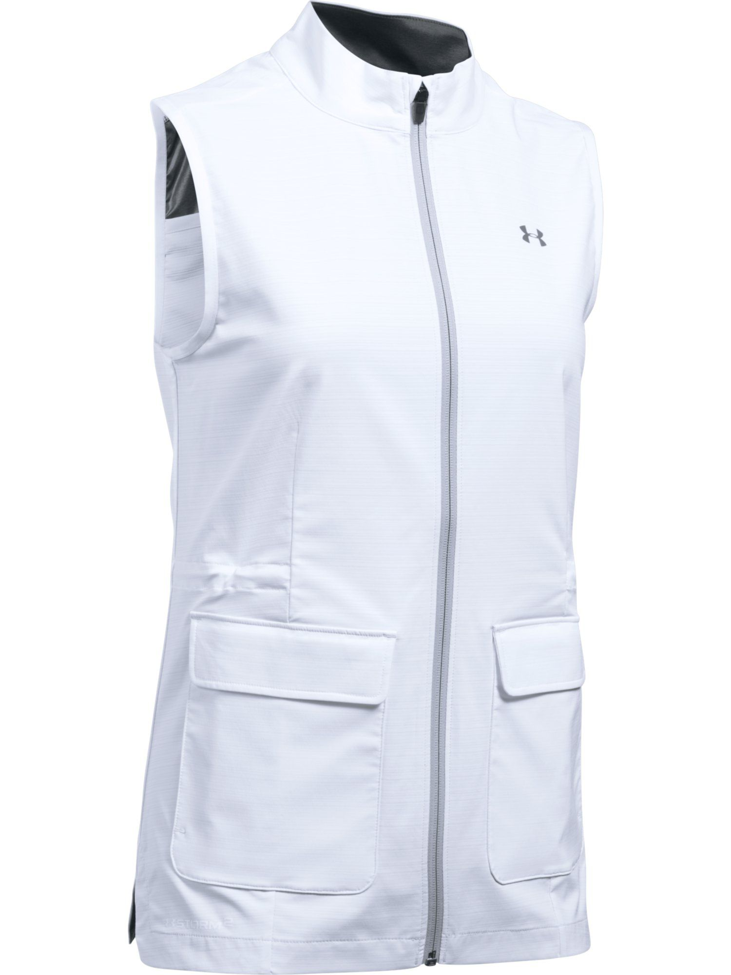 Under Armour Storm Windstrike Full Zip Vest, White