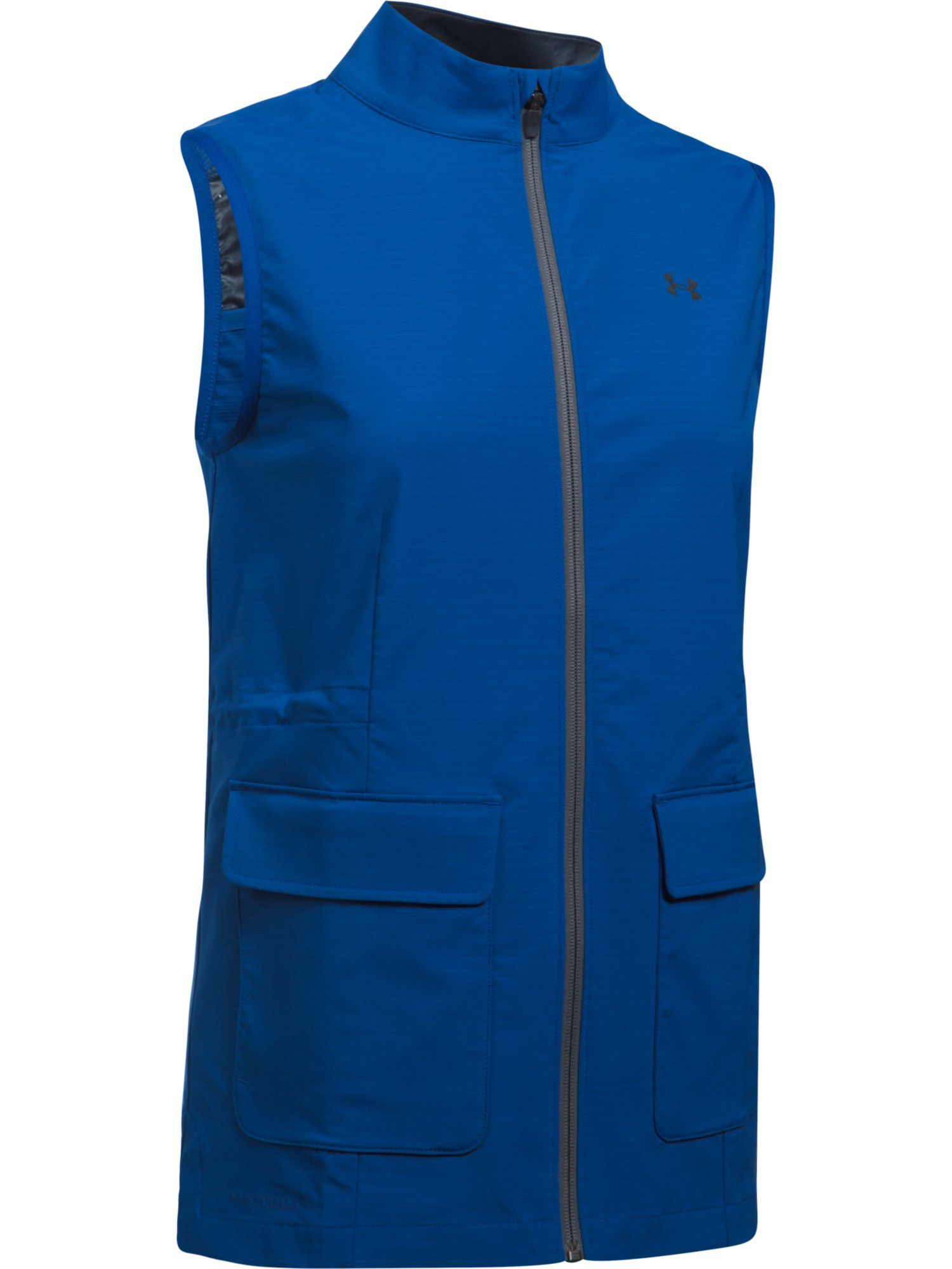 Under Armour Storm Windstrike Full Zip Vest, Blue