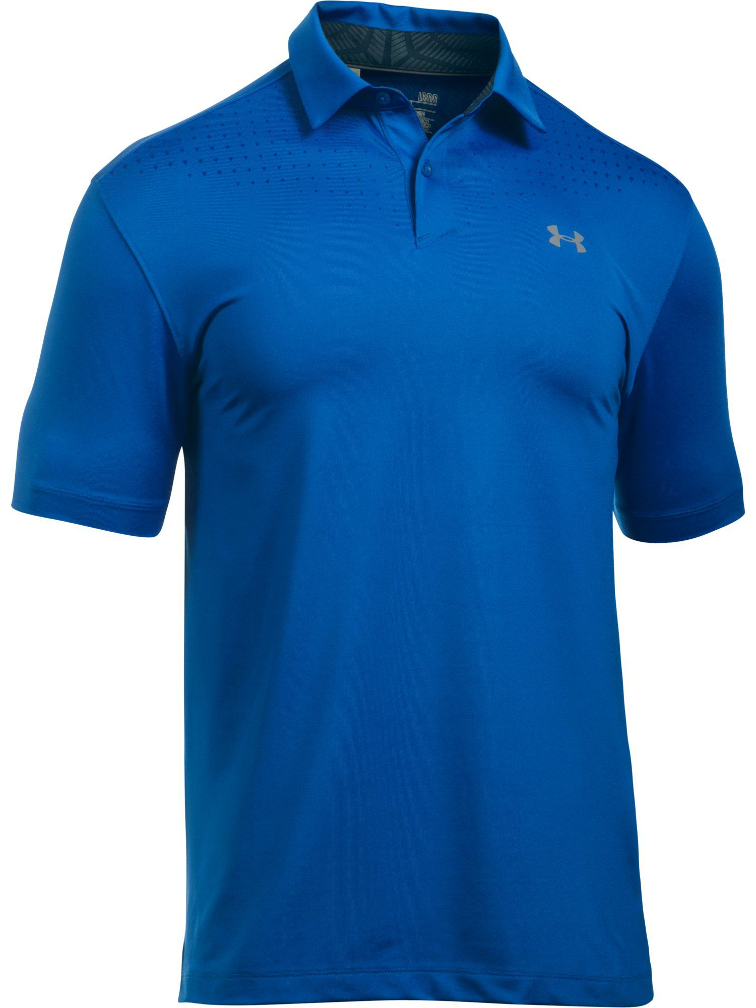 Men's Under Armour Coolswitch Ice Pick Polo, Blue