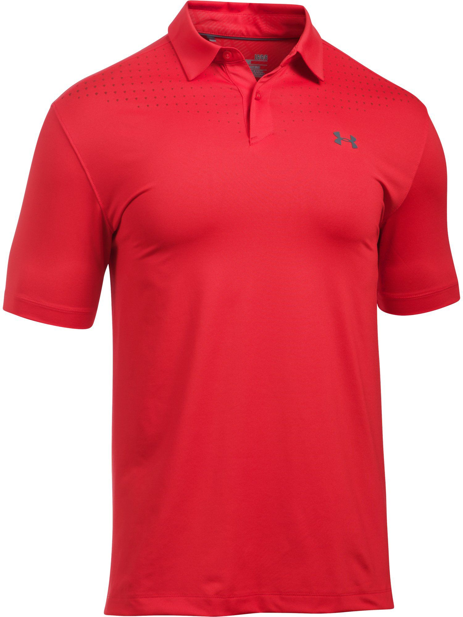 Men's Under Armour Coolswitch Ice Pick Polo, Red
