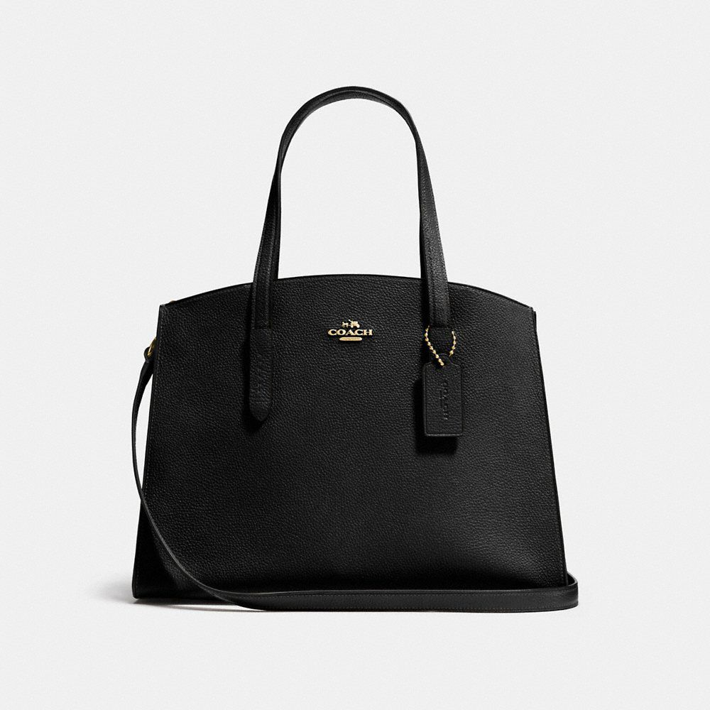 Coach Charlie carryall tote bag, Black
