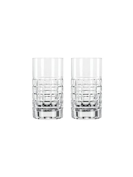 Waterford London set of 2 crystal hi-ball glasses