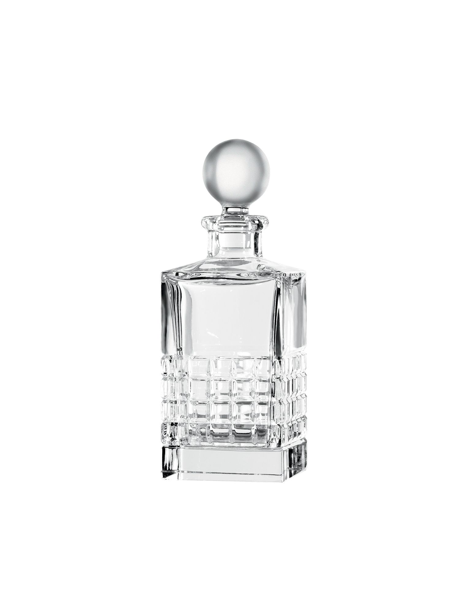 London square crystal decanter and stopper