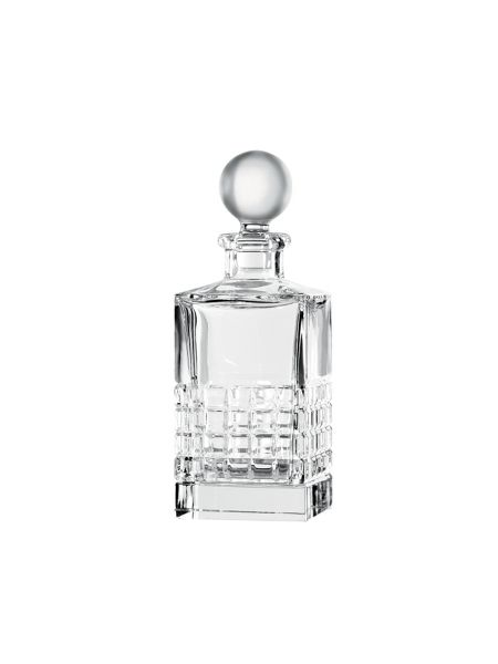 Waterford London square crystal decanter and stopper