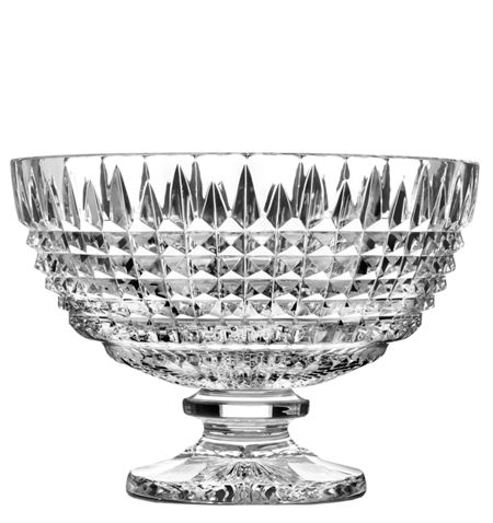 Waterford Lismore diamond 12in ftd c/piece