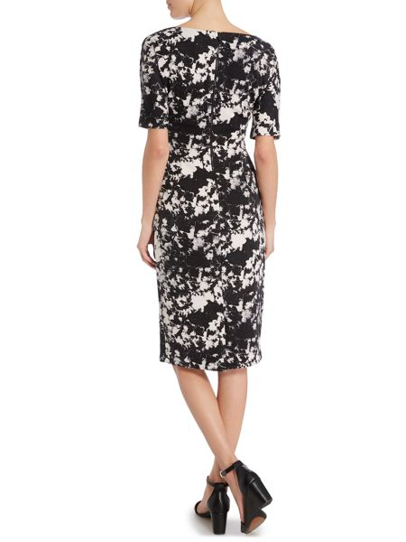 Vince Camuto Floral dress in scuba