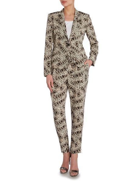 Vince Camuto Animal print trousers