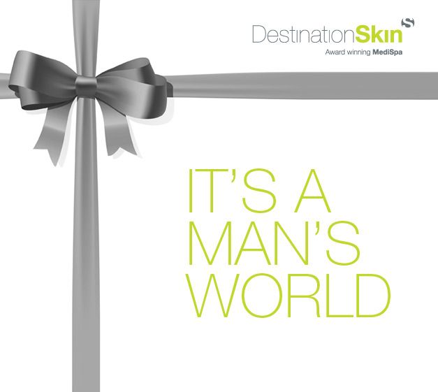 It`s a Man`s World Treatment Package
