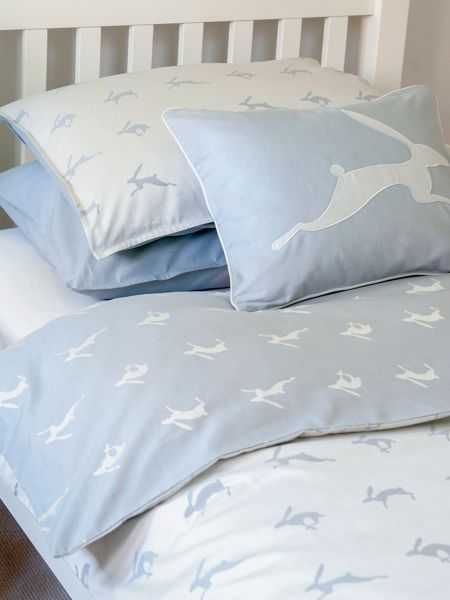 Harriet Hare Running Hare duvet cover