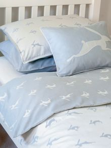 Harriet Hare Running Hare fitted sheet
