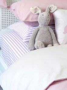 Harriet Hare Ticking Stripe fitted sheet