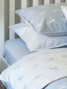 Harriet Hare Plain Jacquard fitted sheet