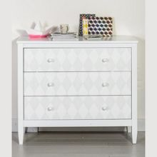 The Baby Cot Shop Diamond Design Changing Chest