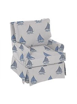 Sailboat Nursery Glider
